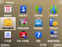 Nokia E72 - E-mail - envoyer un e-mail - Étape 2