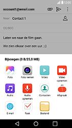 LG X Power - E-mail - Hoe te versturen - Stap 11