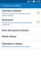 Samsung G530FZ Galaxy Grand Prime - Internet - Désactiver du roaming de données - Étape 6