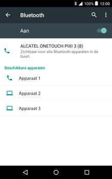 Alcatel Pixi 3 (8) - Bluetooth - Koppelen met ander apparaat - Stap 6