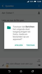 HTC One A9 - MMS - afbeeldingen verzenden - Stap 13