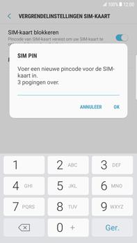 Samsung Galaxy S6 edge+ (SM-G928F) - Beveiliging en ouderlijk toezicht - Hoe wijzig ik mijn SIM PIN-code - Stap 9