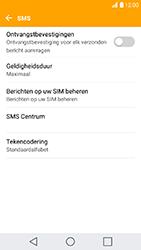 LG K10 (2017) (LG-M250n) - SMS - Handmatig instellen - Stap 9