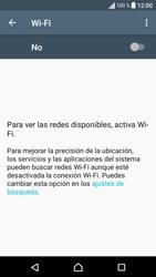 Sony Xperia E5 (F3313) - WiFi - Conectarse a una red WiFi - Paso 5
