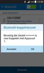 Samsung G388F Galaxy Xcover 3 - Bluetooth - koppelen met ander apparaat - Stap 9