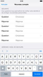 Apple iPhone 6 Plus - Applications - Créer un compte - Étape 14