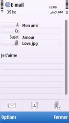 Nokia C5-03 - E-mail - envoyer un e-mail - Étape 11