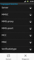 Sony ST25i Xperia U - Internet - handmatig instellen - Stap 15