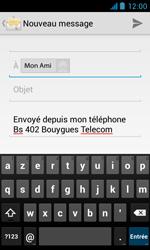 Bouygues Telecom Bs 402 - E-mails - Envoyer un e-mail - Étape 7