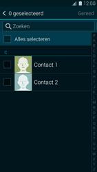 Samsung Galaxy K Zoom 4G (SM-C115) - Contacten en data - Contacten kopiëren van toestel naar SIM - Stap 9
