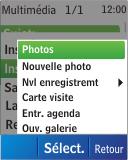 Nokia C1-01 - MMS - envoi d'images - Étape 13