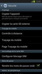 Samsung Galaxy Note 2 - Sécuriser votre mobile - Personnaliser le code PIN de votre carte SIM - Étape 5