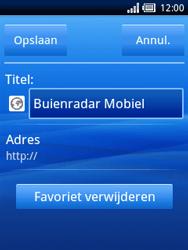 Sony Ericsson Xperia X10 Mini - Internet - Hoe te internetten - Stap 12
