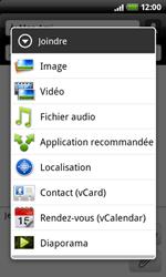 HTC A7272 Desire Z - MMS - envoi d'images - Étape 8