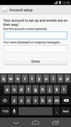 Huawei Ascend P7 - Email - 032b. Email wizard - Yahoo - Step 9