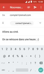 Alcatel Pixi 4 (4) - E-mail - Envoi d