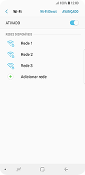 Samsung Galaxy S9 - Wi-Fi - Como ligar a uma rede Wi-Fi -  7