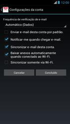 Motorola XT910 RAZR - Email - Como configurar seu celular para receber e enviar e-mails - Etapa 16