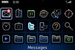 BlackBerry 9000 Bold - Paramètres - Reçus par SMS - Étape 8