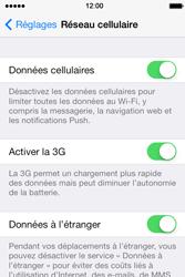 Apple iPhone 4 - Aller plus loin - Désactiver les données à l'étranger - Étape 4