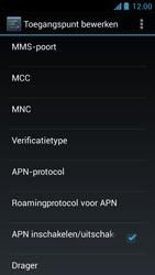 Acer Liquid Z5 - MMS - Handmatig instellen - Stap 13