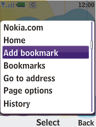 Nokia 7310 supernova - Internet - Internet browsing - Step 6