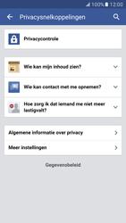 Samsung Galaxy S7 - Privacy - Privacy instellingen van Facebook aanpassen - Stap 20