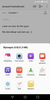 LG V30 (LG-H930) - E-mail - Hoe te versturen - Stap 12