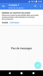 Sony Xperia XZ1 - E-mails - Ajouter ou modifier un compte e-mail - Étape 5