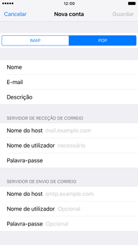 Apple iPhone 6s Plus - Email - Configurar a conta de Email -  12