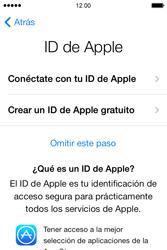 Apple iPhone 4S iOS 7 - Primeros pasos - Activar el equipo - Paso 10