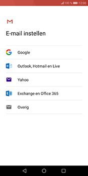 Huawei P Smart - E-mail - e-mail instellen (gmail) - Stap 7