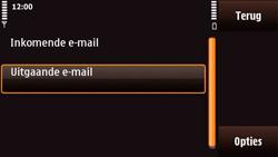 Nokia N97 Mini - E-mail - Handmatig instellen - Stap 25