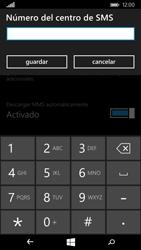 Microsoft Lumia 535 - Mensajería - Configurar el equipo para mensajes de texto - Paso 7