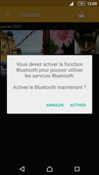 Sony Xperia Z5 - Photos, vidéos, musique - Envoyer une photo via Bluetooth - Étape 10