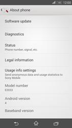 Sony E2003 Xperia E4 G - Network - Installing software updates - Step 6