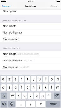 Apple iPhone 6s Plus - E-mail - Configuration manuelle - Étape 12
