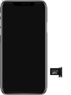 Apple iPhone XR - Primeiros passos - Como inserir o chip da Nextel no seu celular - Etapa 3