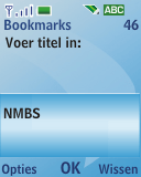 Nokia 3110 classic - Internet - internetten - Stap 11