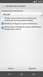 Sony Xperia M2 - E-mail - Configurar correo electrónico - Paso 17