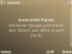 Nokia E72 - Internet - configuration manuelle - Étape 9