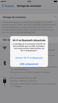 Apple iPhone 6s Plus - Internet et connexion - Partager votre connexion en Wi-Fi - Étape 6