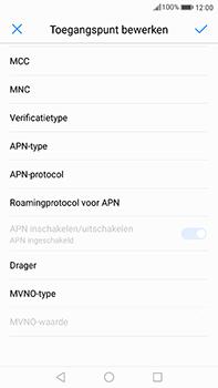 Huawei Mate 9 - Internet - Handmatig instellen - Stap 12