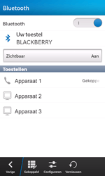 BlackBerry Z10 - Bluetooth - headset, carkit verbinding - Stap 9