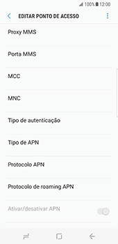 Samsung Galaxy S8 - Internet no telemóvel - Como configurar ligação à internet -  12