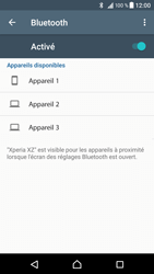 Sony Xperia XZ - Android Nougat - Bluetooth - connexion Bluetooth - Étape 8