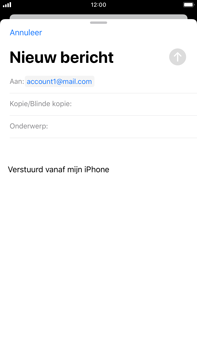 Apple iPhone 6s Plus - iOS 13 - E-mail - e-mail versturen - Stap 5