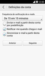 NOS LUNO - Email - Adicionar conta de email -  8