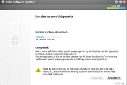 Nokia 6110 Navigator - Software - Update installeren via PC - Stap 17