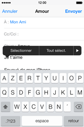 Apple iPhone 4S - E-mails - Envoyer un e-mail - Étape 9